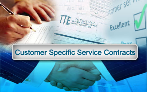 Customer Specific Service Contracts Slide