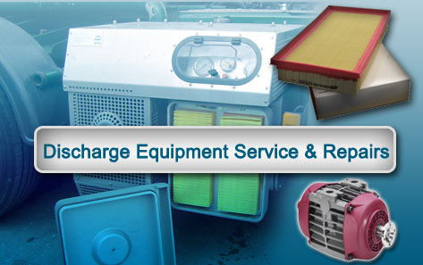 Discharge Equipment Service & Repairs