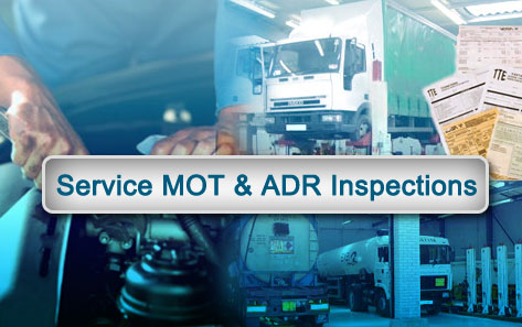 Service MOT and ADR Inspections Slide