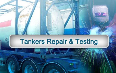 Tankers Repair And Testing Slide